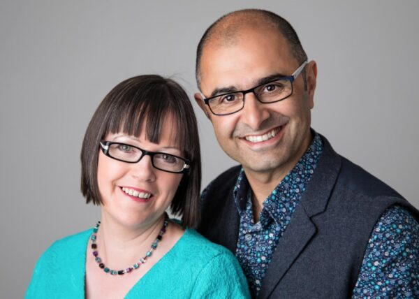 Two people,Karen and Jo Sutton-Johal